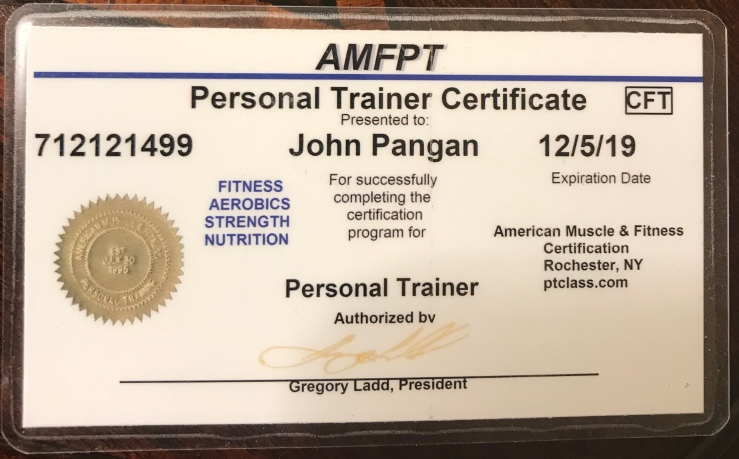 Bodybuilding accolades and certifications – Train with John